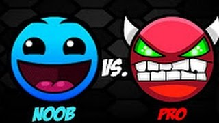 NOOB VS PRO - Geometry dash - By Manu
