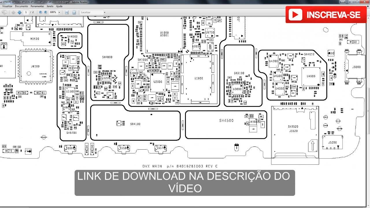 DOWNLOAD ESQUEMA ELÉTRICO MOTO G XT1032 XT1033  YouTube