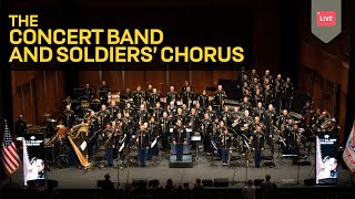 The Star Spangled Banner Concert Band and Soldiers 39