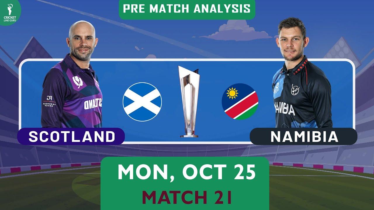 SCO vs NAM ICC T20 World Cup, 21st Match Prediction | NAM vs SCO Who Will Win?
