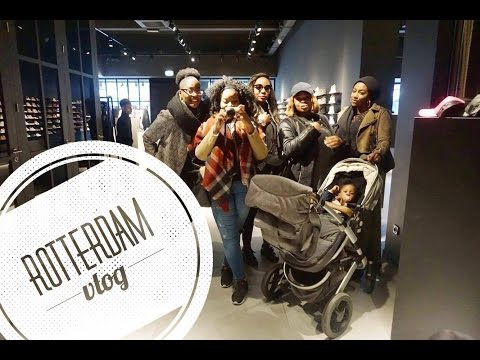 VLOG| Rotterdam Trip| Follow us around| SistAL