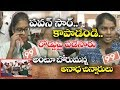 Orphan Girls Crying | Asking Help to #PawanKalyan | Vijayawada Janasena Office | 99TV