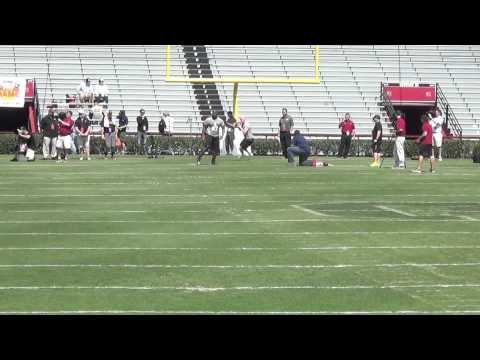 Connor Shaw and Bruce Ellington: Pro Day Workout/Interview