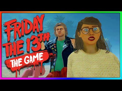OUT OF THE MAP GLITCH?!   Friday the 13th Game Counselor Gameplay