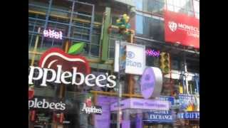 THE RIDE bus tour---Times Square NYC