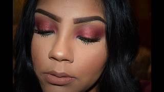How to do a Holiday Glam Makeup Tutorial