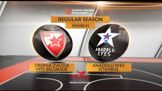 Црвена Звезда : Анадолу Эфес