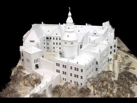 Make house model foam board