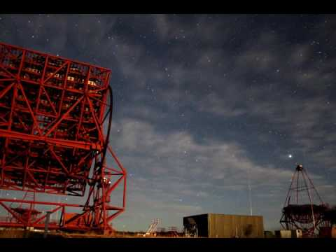 Time Lapse at the Worlds largest gamma-ray telescope