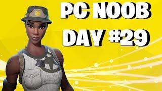 FORTNITE UPDATE v6.30 PC NOOB DAY #29 LIVE STREAM