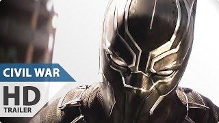 Captain america 3 civil war new movie clip - black panther vs bucky (2016) marvel superhero movie hd