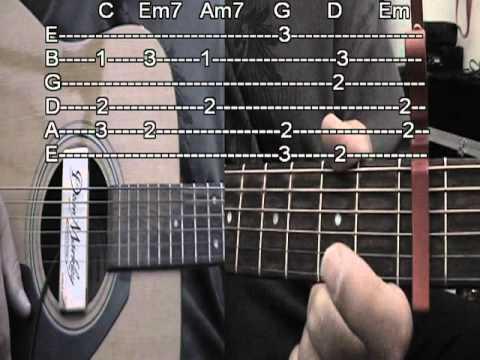 Landslide Guitar w Tab