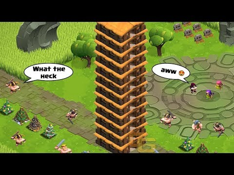 Clash of Clans Funny Moments Trolls Compilation #25 | COC Montage