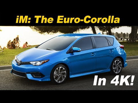 2017 Toyota Corolla iM Review and Road Test In 4K UHD