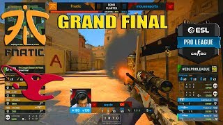 GRAND FINAL - fnatic vs mousesports - ESL Pro League S10 Finals - CS:GO