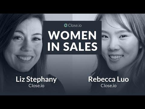 Women in Sales: Liz Stephany from Close.io