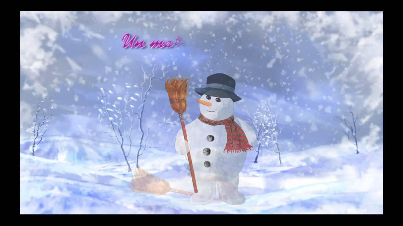 Bonhomme de neige youtube - Bonhomme de neige en pompon ...
