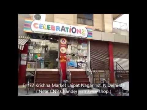 Gift Gallery Celebrationz Lajpat Nagar Delhi CzD Shop WalkThrough