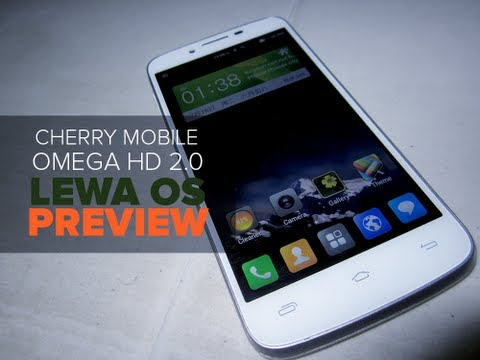 Lewa OS Build ported to Cherry Mobile Omega HD 2.0 [Preview]