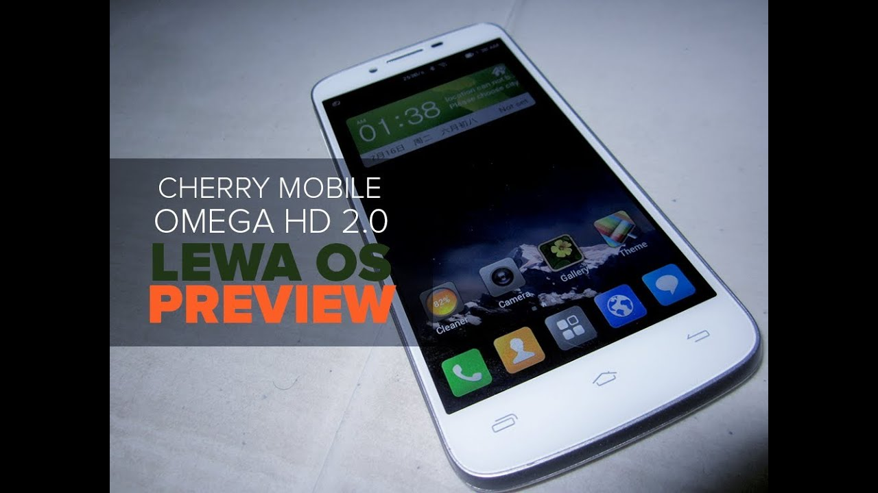 Lewa OS Build ported to Cherry Mobile Omega HD 2 0 [Preview]