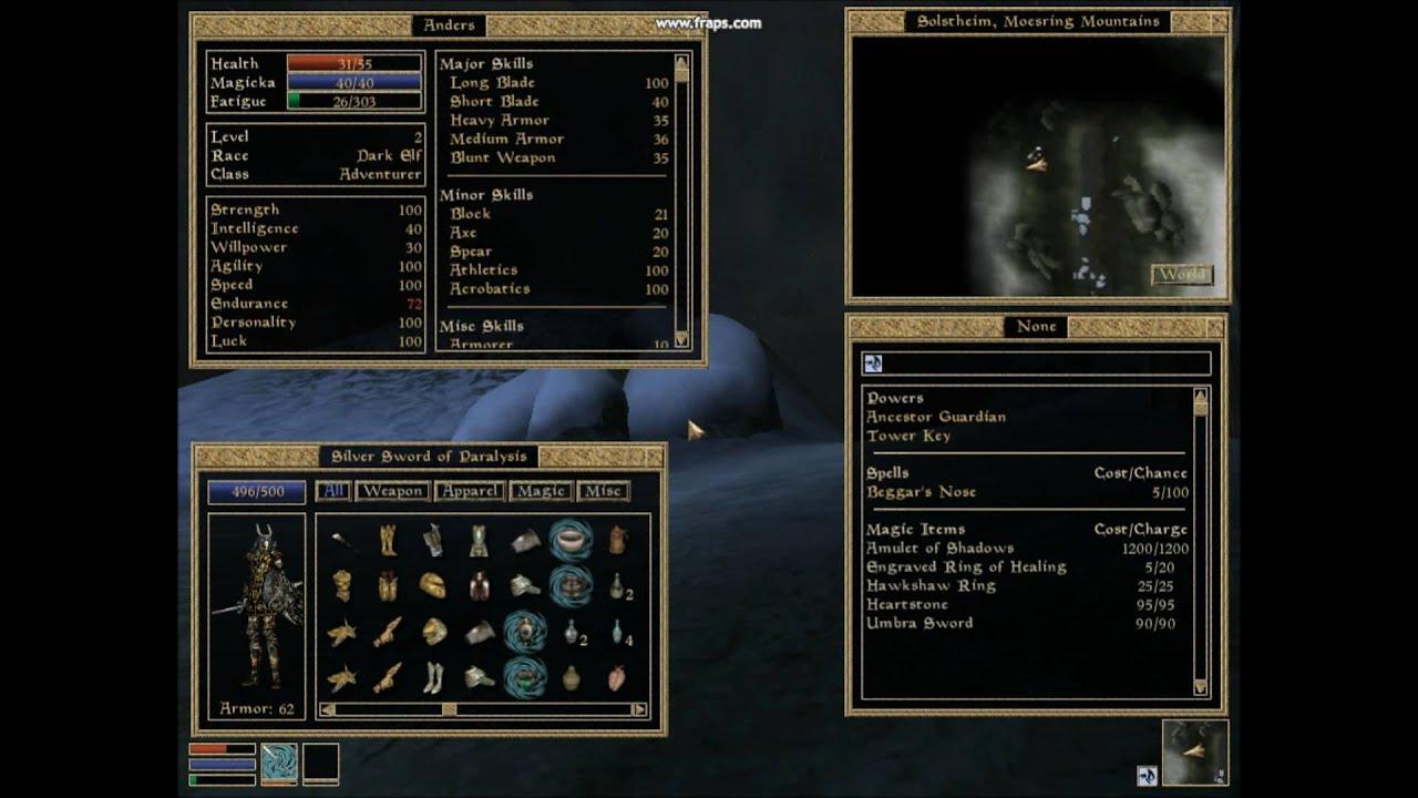 Morrowind WereWolf Transformation
