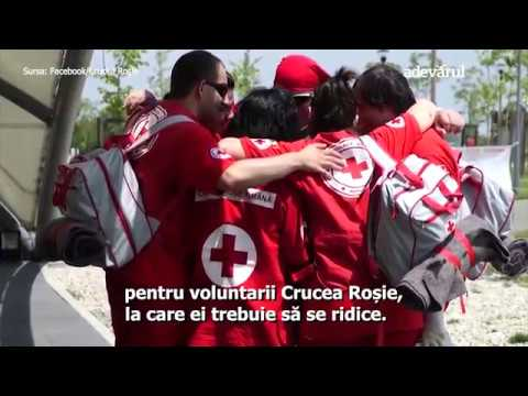 Voluntar de meserie la Crucea Roşie