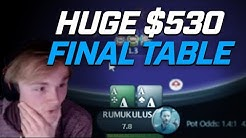 Academy Member Leon takes on the $530 HYPER Final Table with $47,000 up top! [Stream Highlights]