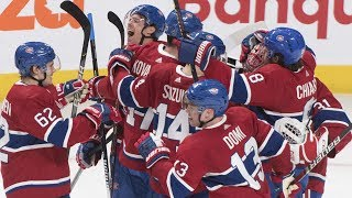 NHL Highlights | Golden Knights vs Canadiens - Jan. 18, 2020