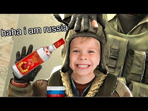 CS:GO THE NICEST RUSSIAN KID EVER (FUNNY MOMENTS)
