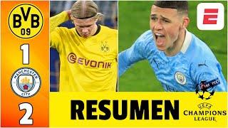 Dortmund 1-2 Manchester City. HISTÓRICO día de Pep Guardiola y ¡se viene el PSG! | Champions League
