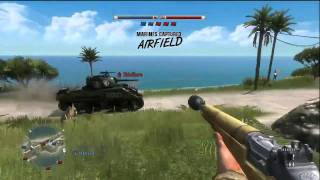 Battlefield 1943 - Online Gameplay 3 [1/2]
