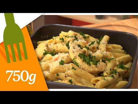 recette-de-pâtes-au-poulet---750g