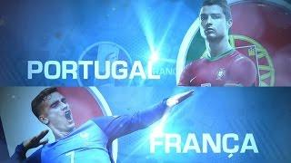 Chamada Globo: Portugal X França (Euro 16 - Final)