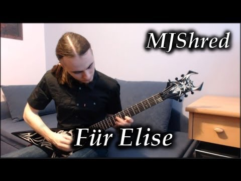 Für Elise Beethoven Metal Version