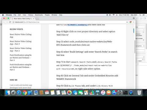 React Native Video Calling App – Part 7 – React Native Made Easy