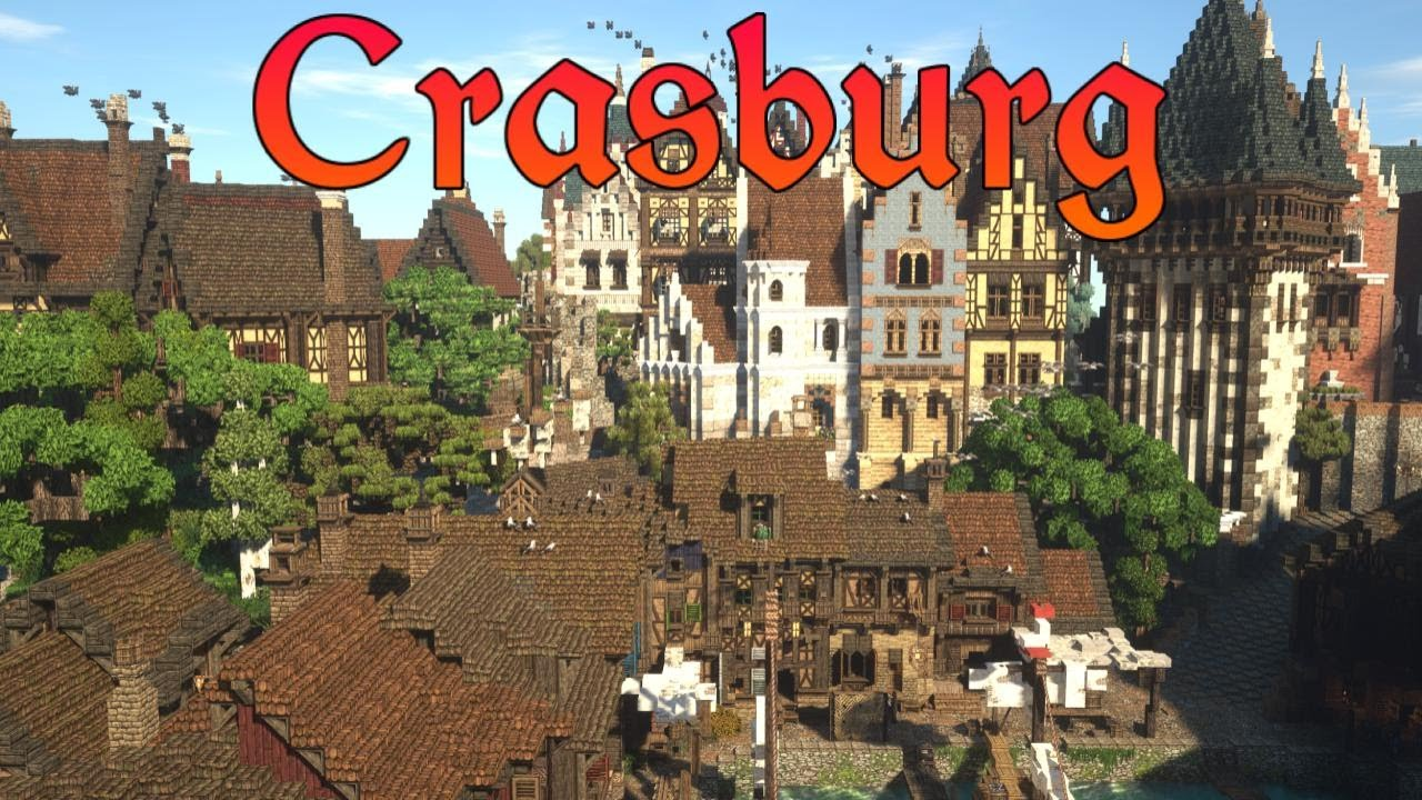 Finishing Huge Area | Crasburg | Episode 79 - Medieval Minecraft City