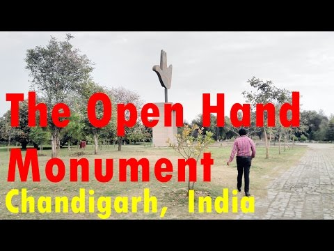 World Most Significant - Open Hand Monument, Capitol Complex, Chandigarh