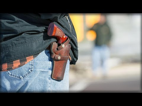 STUDENTS PERMITTED TO CARRY GUNS ON CAMPUS… THAT'S WHEN IT HAPPENS