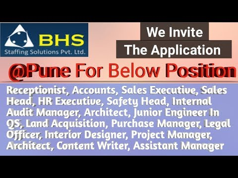 Pune job vacancy Part-2