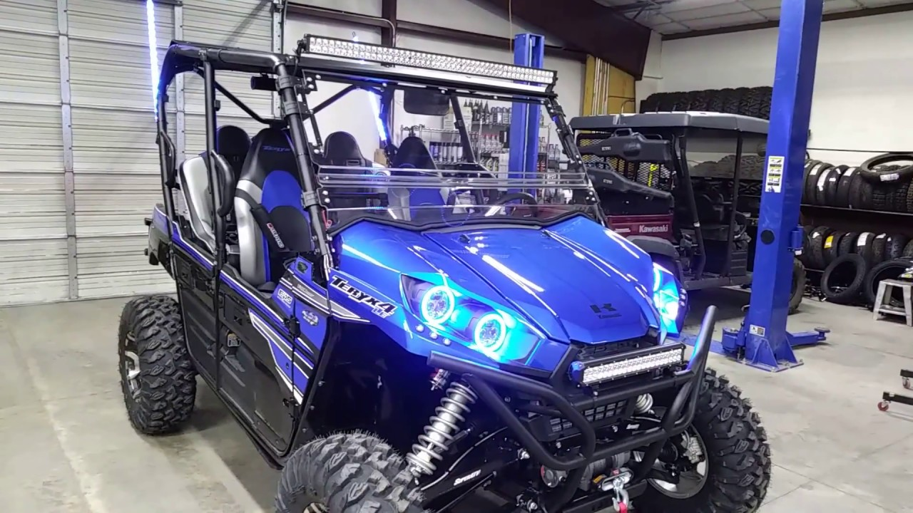 Teryx 4 Long Travel 5 Passenger Bench Seat And Much