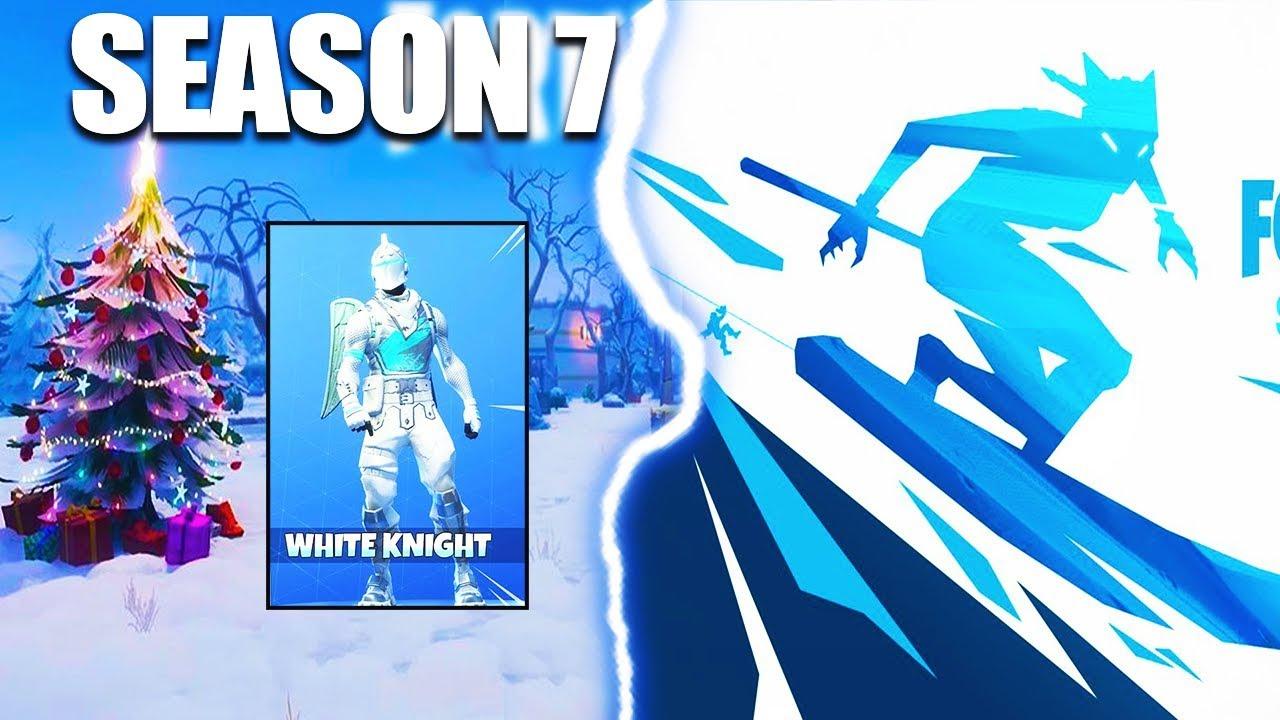 New Fortnite Season 7 Skin Reveal Zipline Snow Map Fortnite