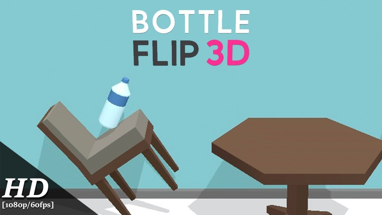 Flip Bottle Challenge 3D Gameplay