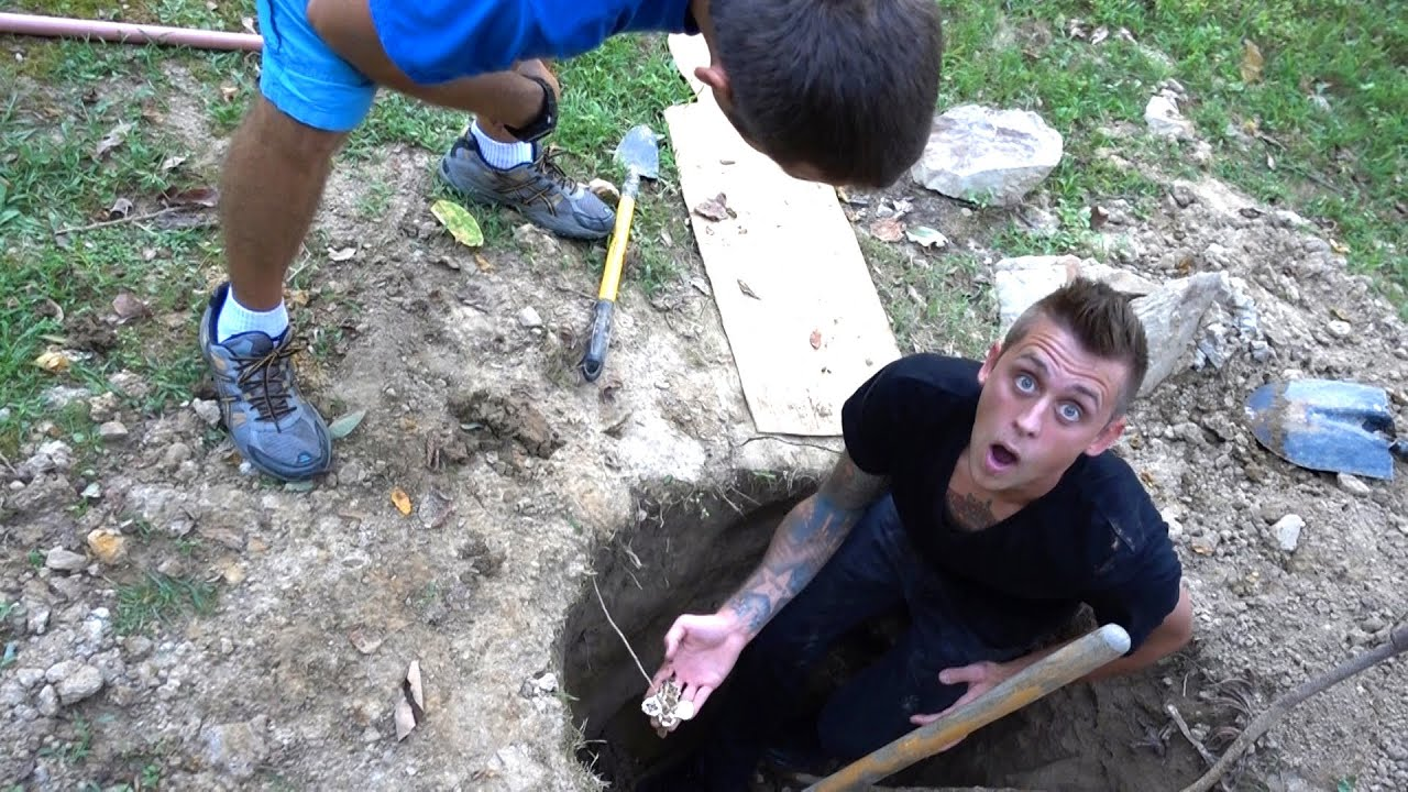 Awesome I Found Gold In My Backyard Part - 10: WE FOUND GOLD!! - YouTube