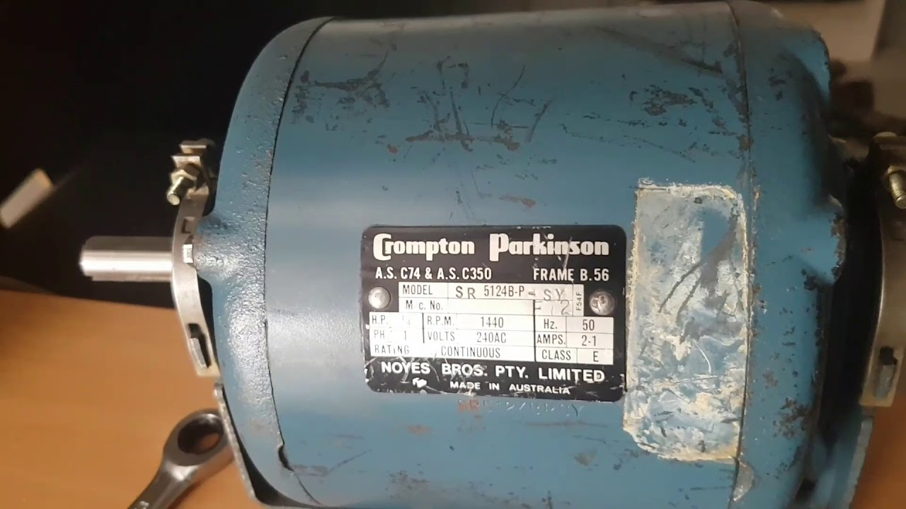 Wiring A Crompton Parkinson 1 4 1 2 Wiring 2
