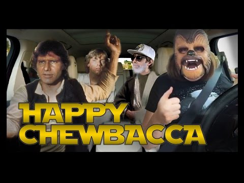 HAPPY CHEWBACCA MASK - Songify This!