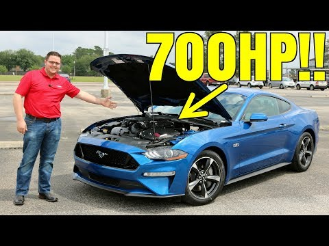 2018 Roush Supercharged Mustang Driving Review - 700HP For $39,995