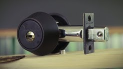 What makes a lock high security?   The Mul-T-Lock Hurcular Deadbolt