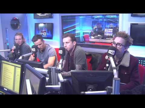 McFly Vodafone Big Top 40 Webchat - Sunday 24th November 2013
