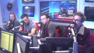 McFly Vodafone Big Top 40 Webchat - Sunday 24th November 2013