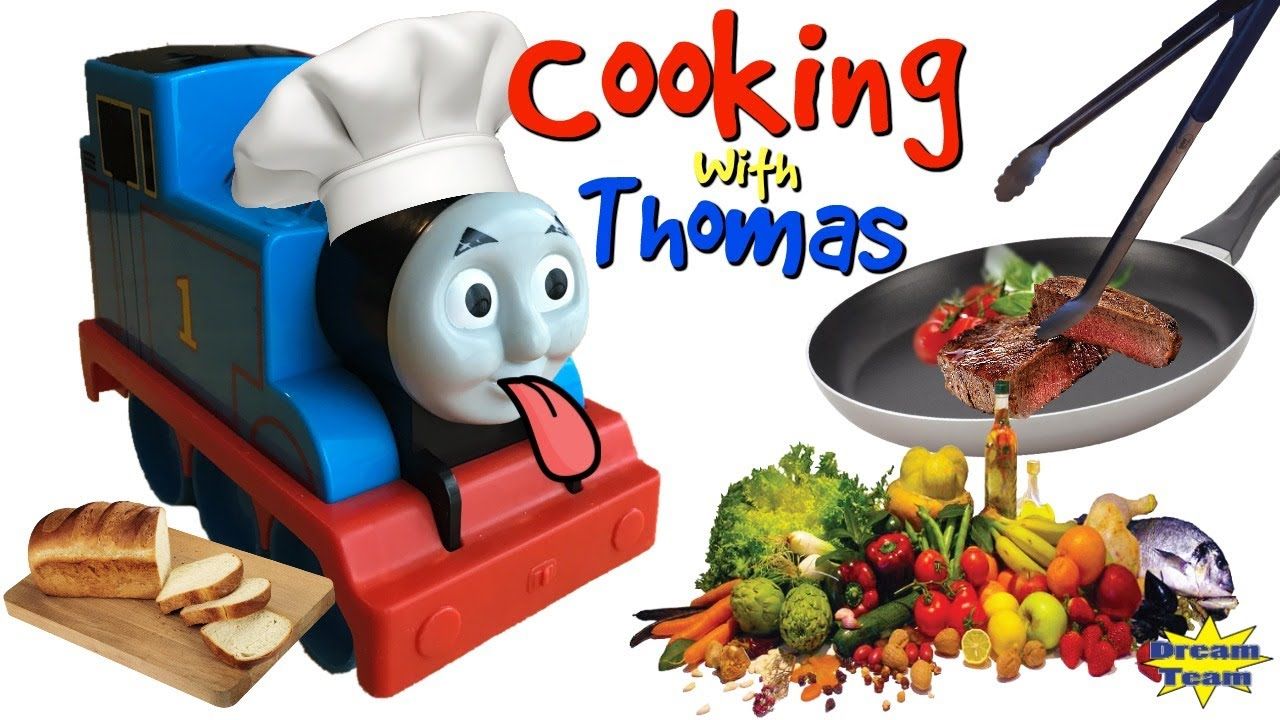 TRAINS FOR CHILDREN VIDEO Hungry Thomas and Friends Thomas the Train Cooks Cooking Show For Kids